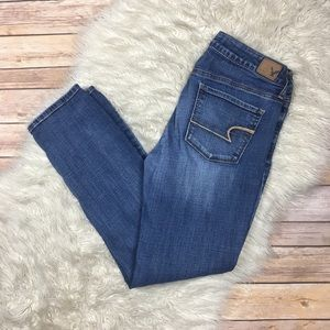 American Eagle   Super Stretch Skinny Ankle Jeans